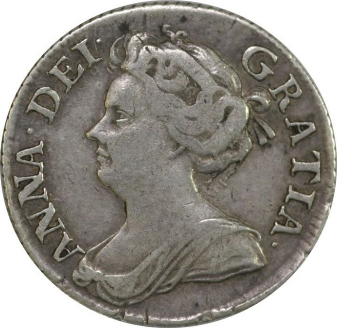 Queen Anne Sixpence 1702 - 1714